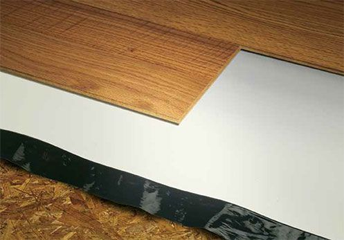 Superior Performance Acoustical Flooring Underlayment With Unsurpassed  Sound Absorption Properties For Use With Laminate And Hardwood Floating  Flooring.