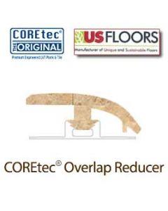 "Amalfi Beige Overlap Reducer Molding for 50LVT101 | Amalfi Beige COREtec 24"" x 12"" Tiles Collection by US Floors"