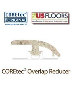"Amalfi Grey Overlap Reducer Molding for 50LVT102 | Amalfi Grey COREtec 24"" x 12"" Tiles Collection by US Floors"
