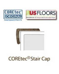 "Empire Slate Stair Cap Molding for 50LVT103 | Empire Slate COREtec 24"" x 12"" Tiles Collection by US Floors"