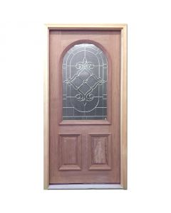 Sustainable Solid Mahogany 1-0/3-0/1-0 door floor by Products Direct® from the Basic collection