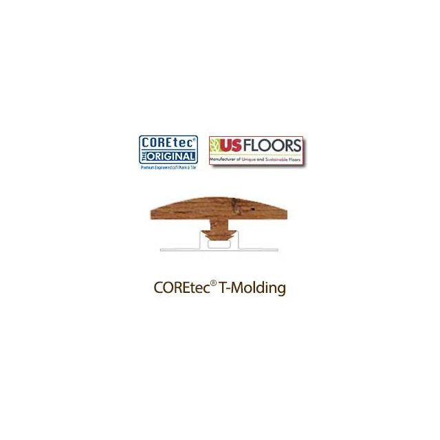 "Carolina Pine T-Molding for 50LVP501 | Carolina Pine COREtec 5"" Collection by US Floors"