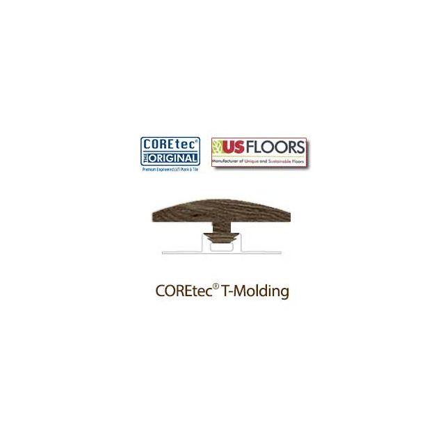 "Clear Lake Oak T-Molding for 50LVP504 | Clear Lake Oak COREtec 5"" Collection by US Floors"