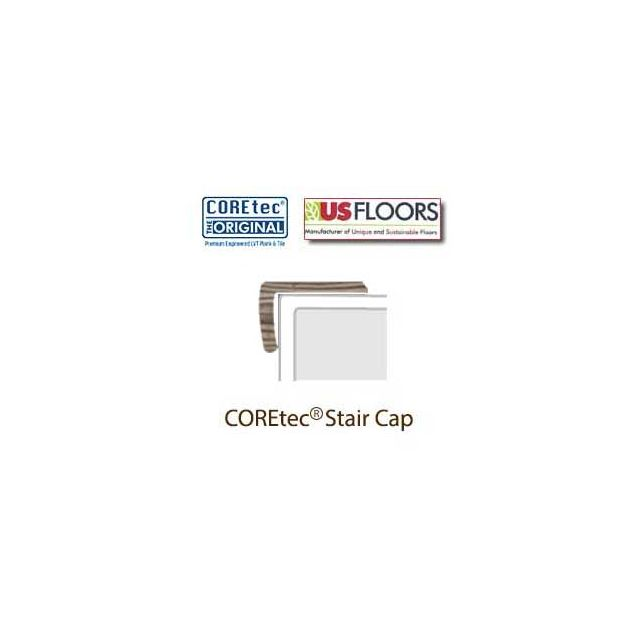"Corvallis Pine Stair Cap Molding for 50LVP506 | Corvallis Pine COREtec 5"" Collection by US Floors"