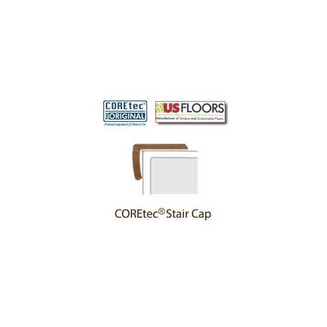 "Red River Hickory Stair Cap Molding for 50LVP508 | Red River Hickory COREtec 5"" Collection by US Floors"