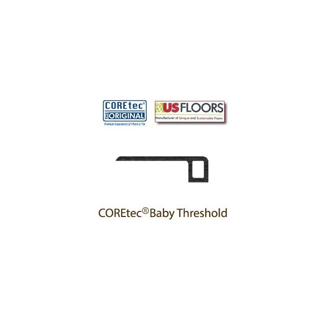 "Gotham Oak Baby Threshold Molding for 50LVP601 | Gotham Oak COREtec 5"" Collection by US Floors"
