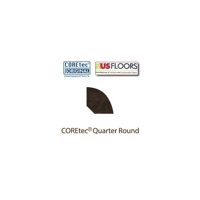 "Mission Oak Quarter Round Molding for 50LVP607 | Mission Oak COREtec 9"" Collection by US Floors"