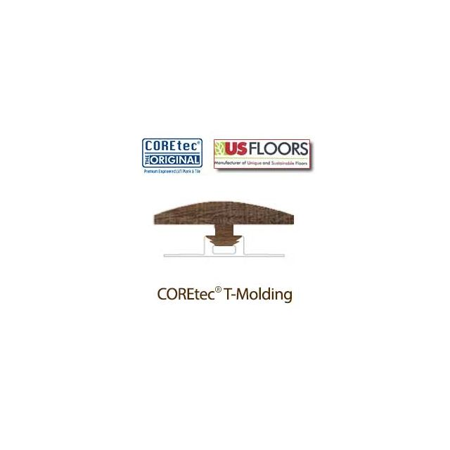 "Margate Oak T-Molding for 50LVP702 | Margate Oak COREtec 7"" Collection by US Floors"