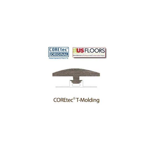 "Alabaster Oak T-Molding for 50LVP706 | Alabaster Oak COREtec 7"" Collection by US Floors"