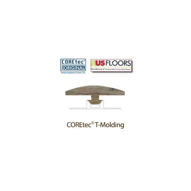 "Blackstone Oak T-Molding for 50LVP707 | Blackstone Oak COREtec 7"" Collection by US Floors"