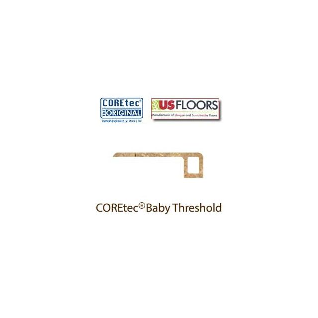 """Noce Travertine Baby Threshold Molding for 50LVT105 