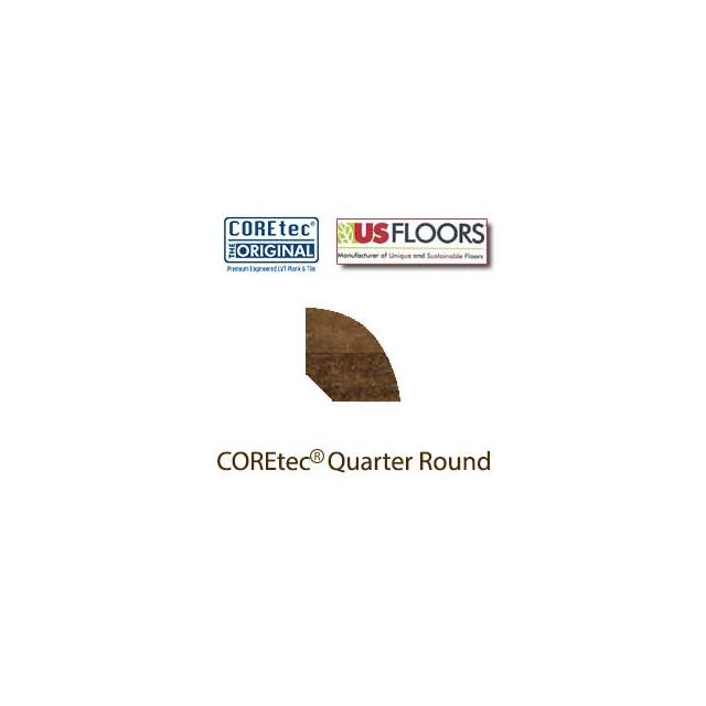 """Aged Copper Quarter Round Molding for 50LVT108 