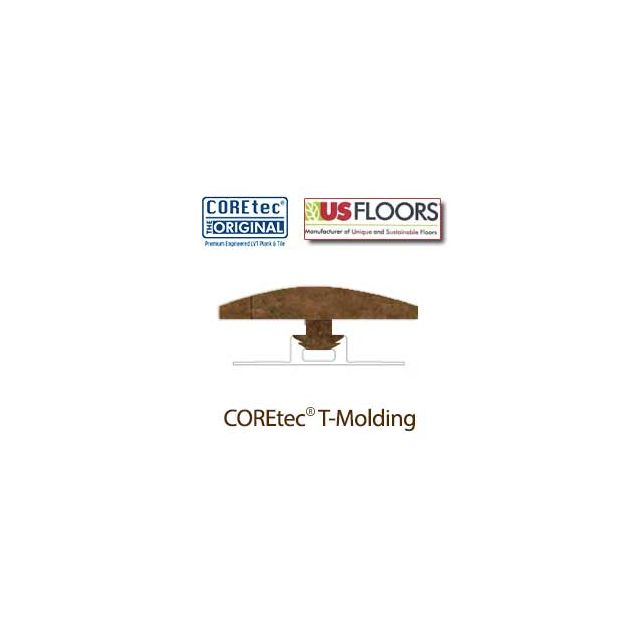 """Aged Copper T-Molding for 50LVT108 