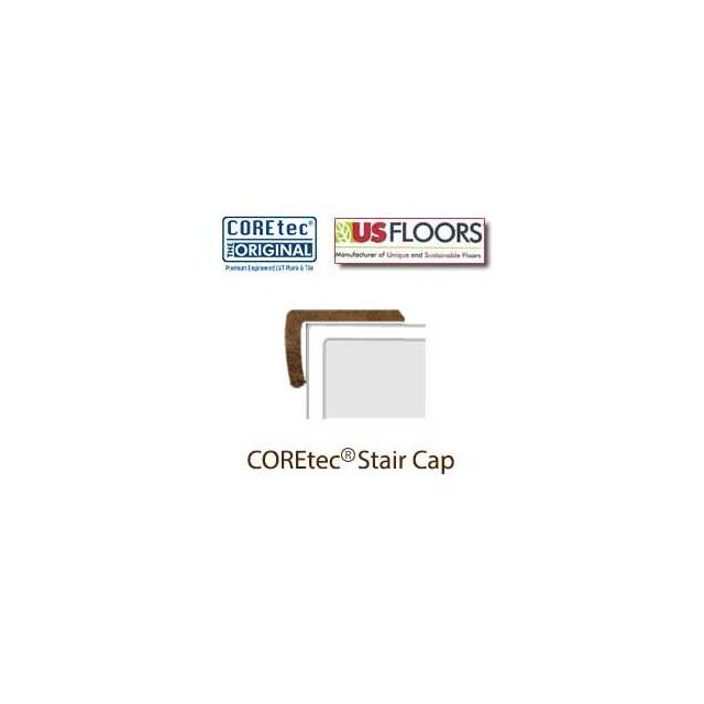 """Aged Copper Stair Cap Molding for 50LVT108 