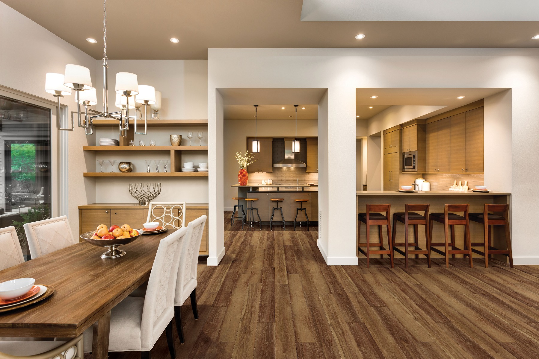 Mornington Oak floor by USFloors® from the COREtec Plus Enhanced Plank collection | SKU:50LVPE762