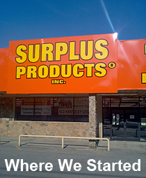 Surplus Products Store Front