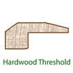 Hardwood Threshold Molding