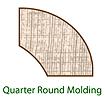 Quarter Inch Round Molding